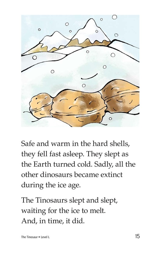Book Preview For The Tinosaur Page 15