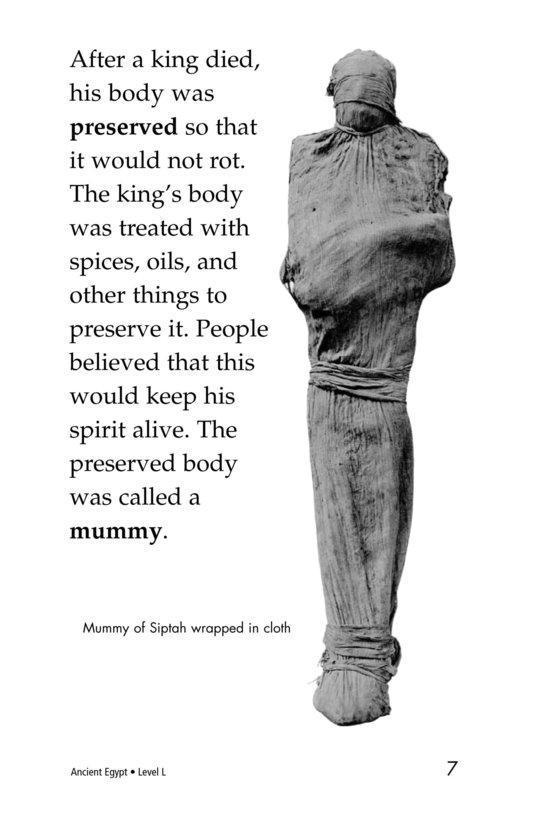 Book Preview For Ancient Egypt Page 7