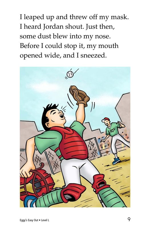 Book Preview For Eggy's Easy Out Page 9