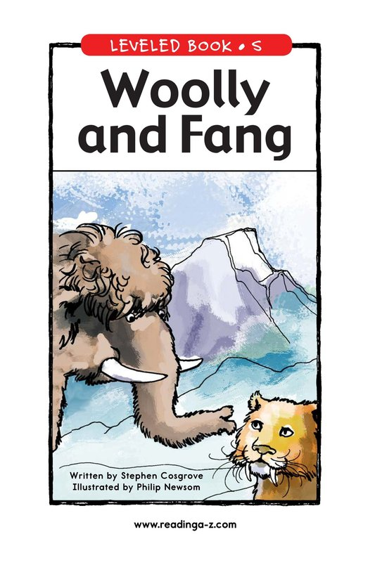 Book Preview For Woolly and Fang Page 1