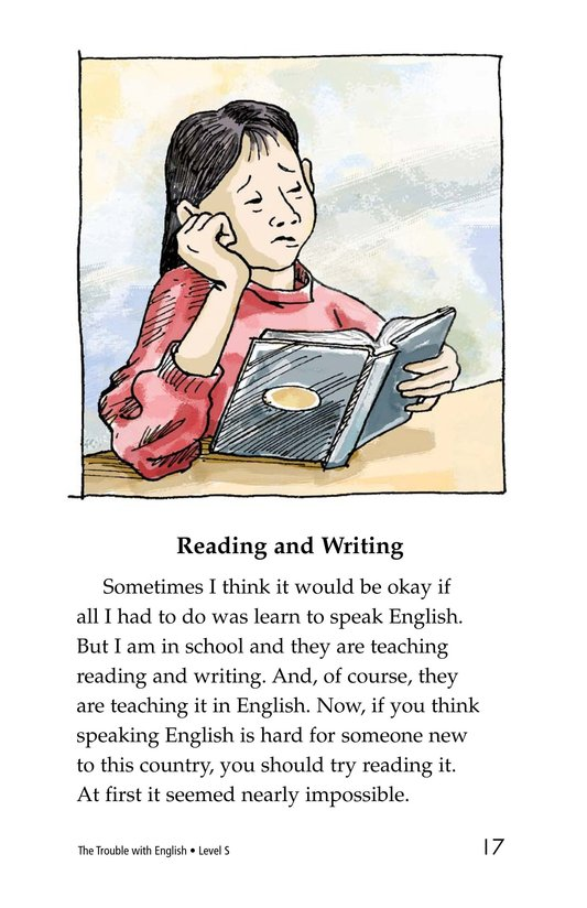 Book Preview For The Trouble with English Page 17