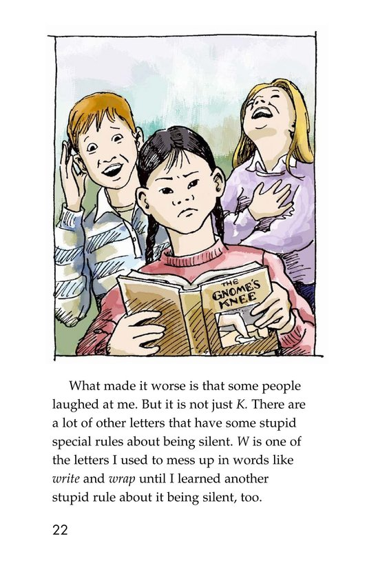 Book Preview For The Trouble with English Page 22