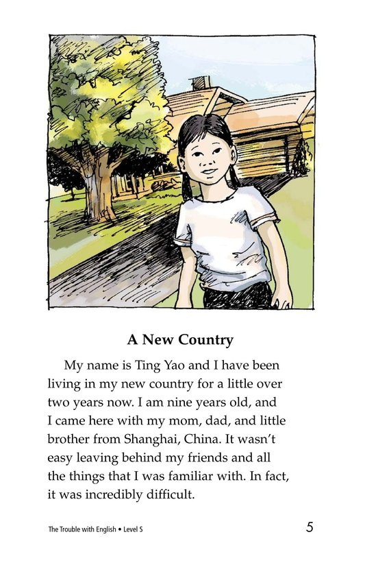 Book Preview For The Trouble with English Page 5