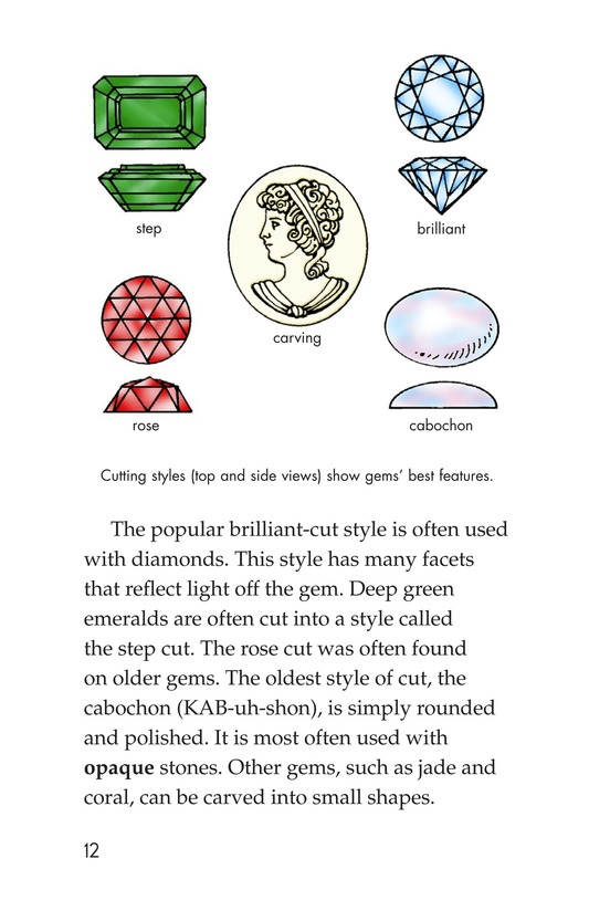 Book Preview For Gems: Treasures from the Earth Page 12