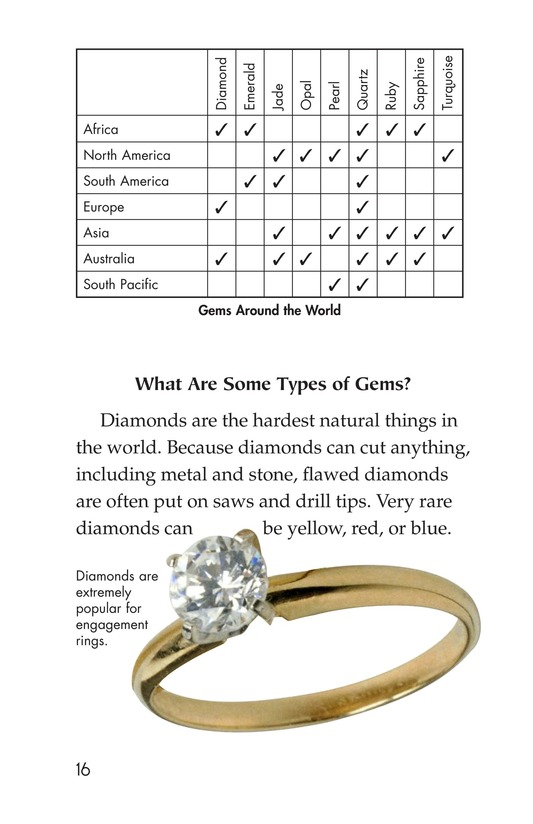 Book Preview For Gems: Treasures from the Earth Page 16