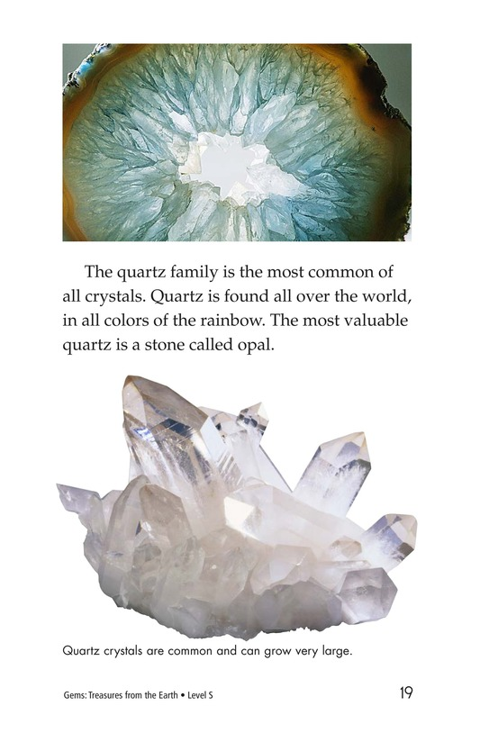 Book Preview For Gems: Treasures from the Earth Page 19