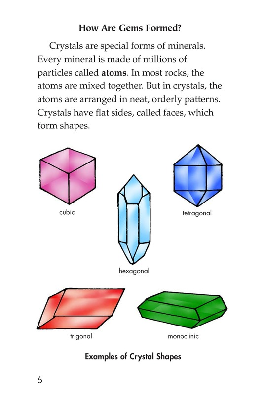 Book Preview For Gems: Treasures from the Earth Page 6