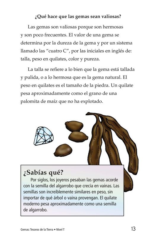 Book Preview For Gems: Treasures from the Earth Page 13