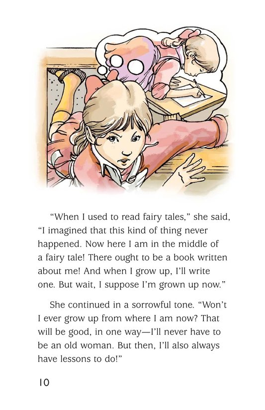 Book Preview For A Selection From Alice in Wonderland Page 10