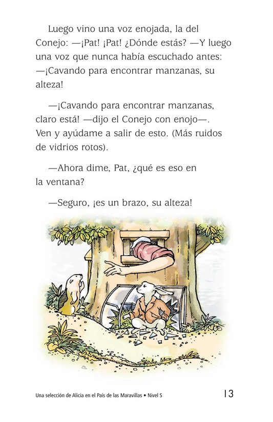 Book Preview For A Selection From Alice in Wonderland Page 13