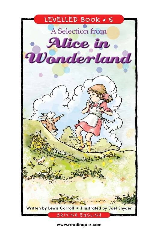 Book Preview For A Selection From Alice in Wonderland Page 1
