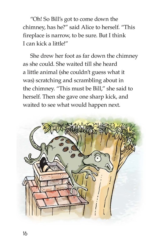 Book Preview For A Selection From Alice in Wonderland Page 16