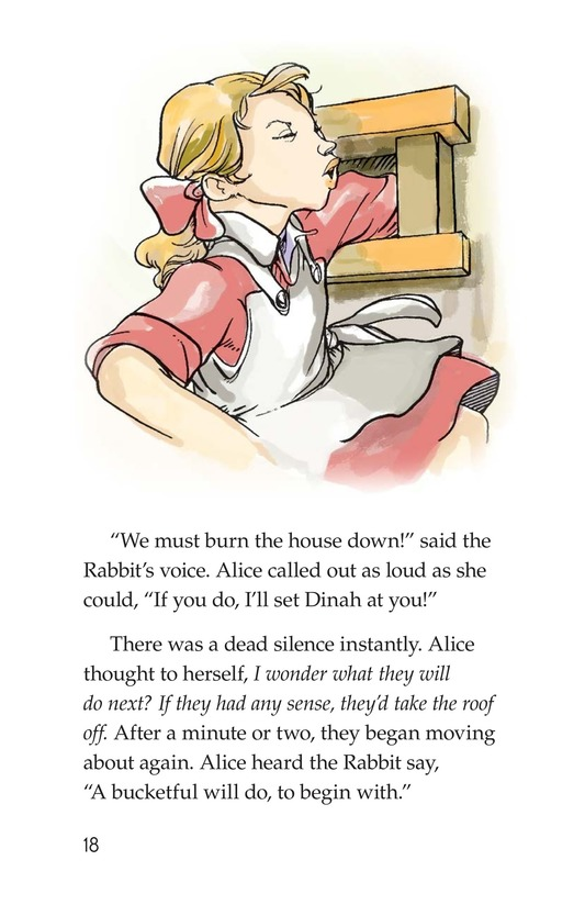 Book Preview For A Selection From Alice in Wonderland Page 18