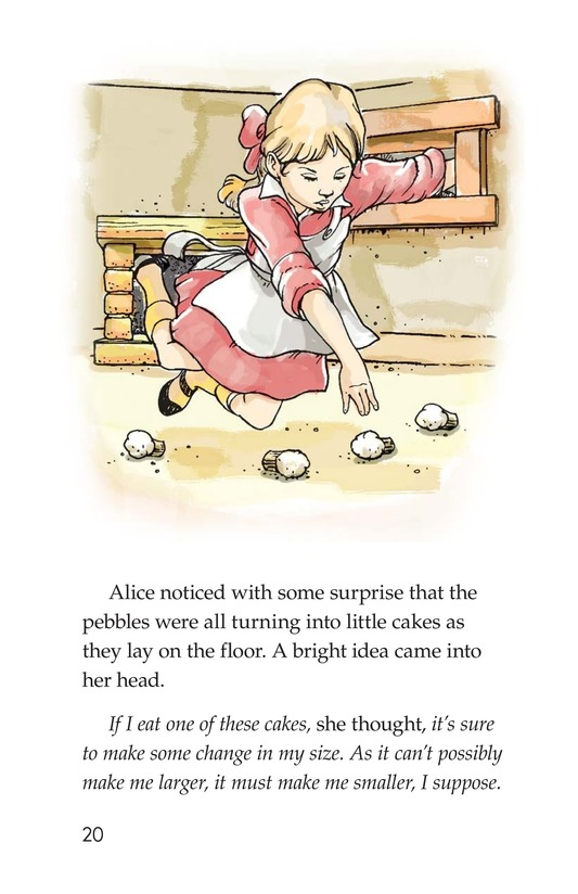 Book Preview For A Selection From Alice in Wonderland Page 20