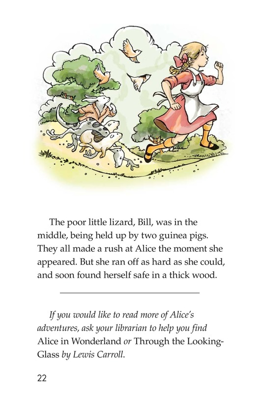Book Preview For A Selection From Alice in Wonderland Page 22