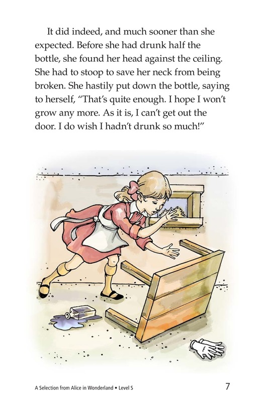 Book Preview For A Selection From Alice in Wonderland Page 7