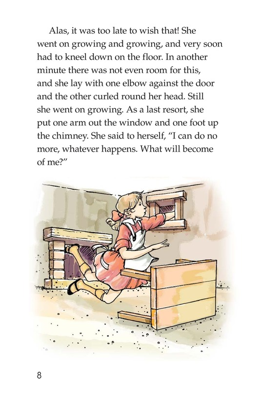 Book Preview For A Selection From Alice in Wonderland Page 8