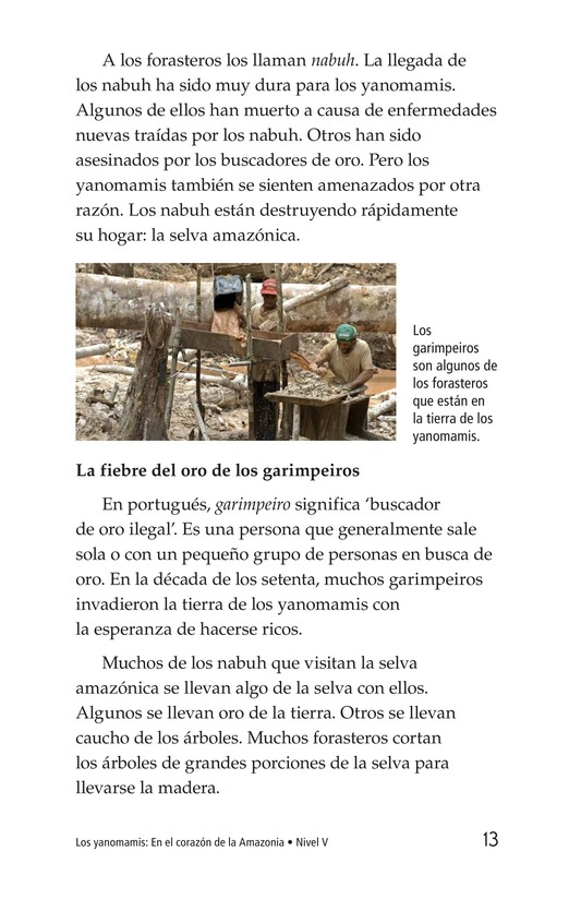 Book Preview For The Yanomami: Deep in the Amazon Page 13