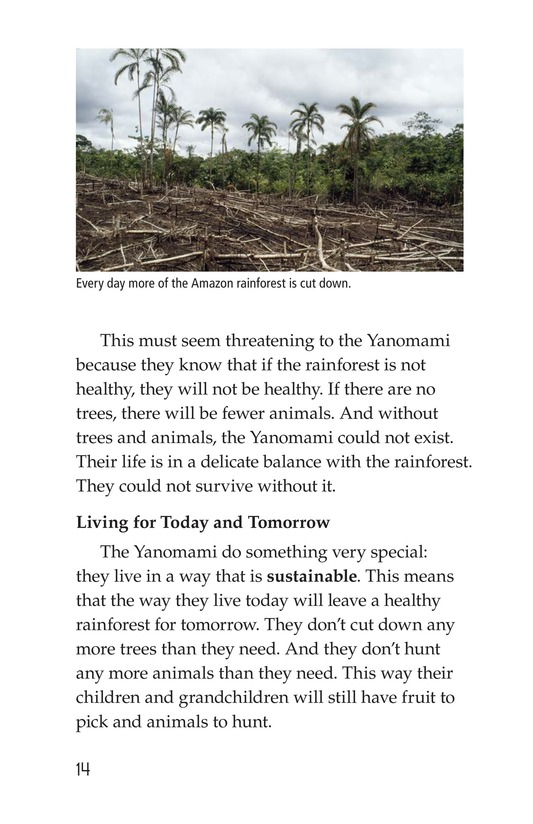 Book Preview For The Yanomami: Deep in the Amazon Page 14