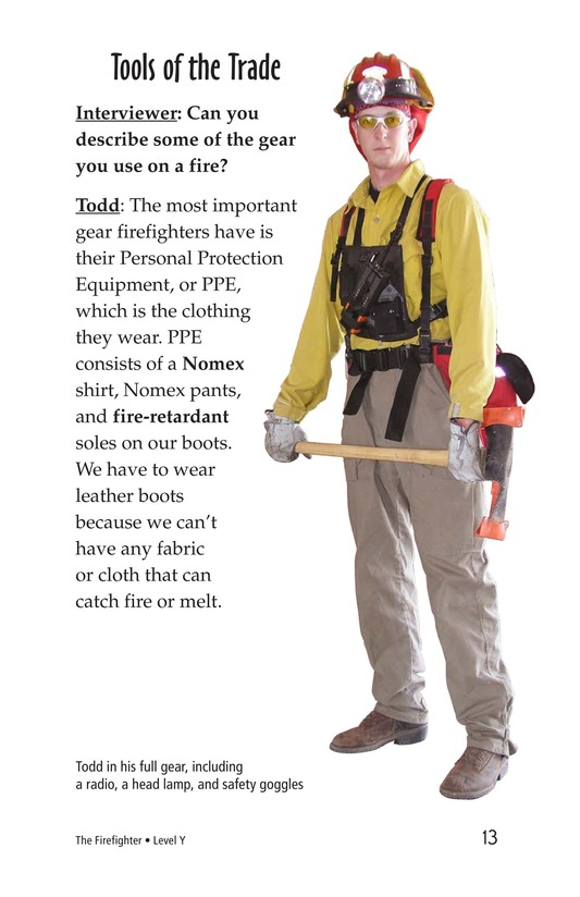 Book Preview For The Firefighter Page 13