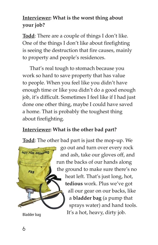Book Preview For The Firefighter Page 6