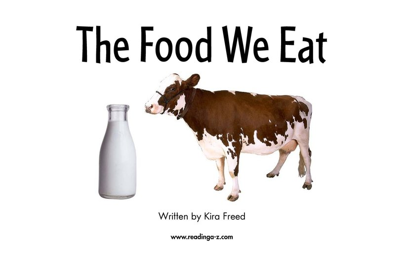 Book Preview For The Food We Eat Page 2