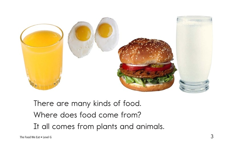 Book Preview For The Food We Eat Page 3