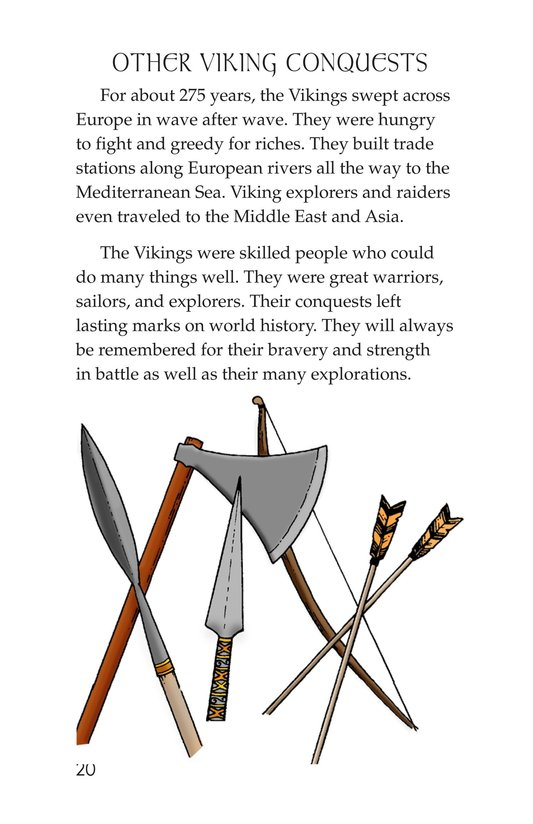 Book Preview For Vikings Page 20