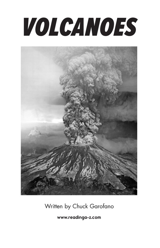 Book Preview For Volcanoes Page 2