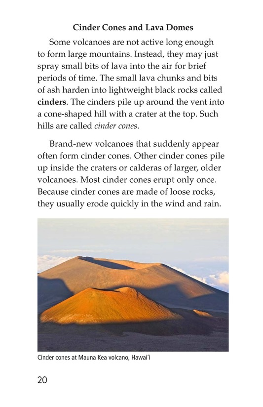 Book Preview For Volcanoes Page 20