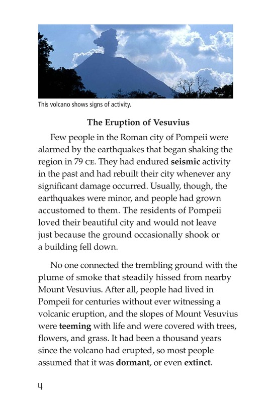 Book Preview For Volcanoes Page 4