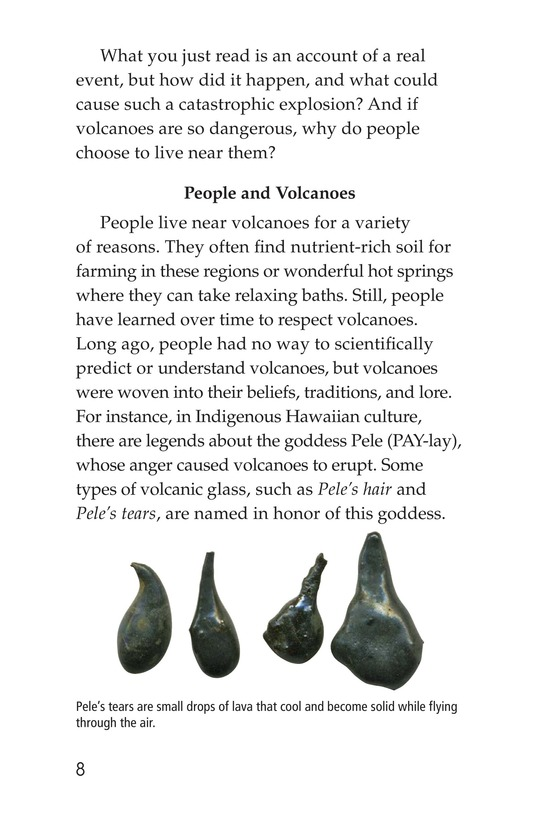 Book Preview For Volcanoes Page 8