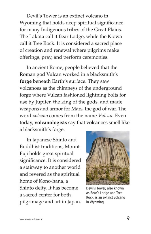 Book Preview For Volcanoes Page 9