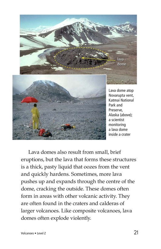 Book Preview For Volcanoes Page 21