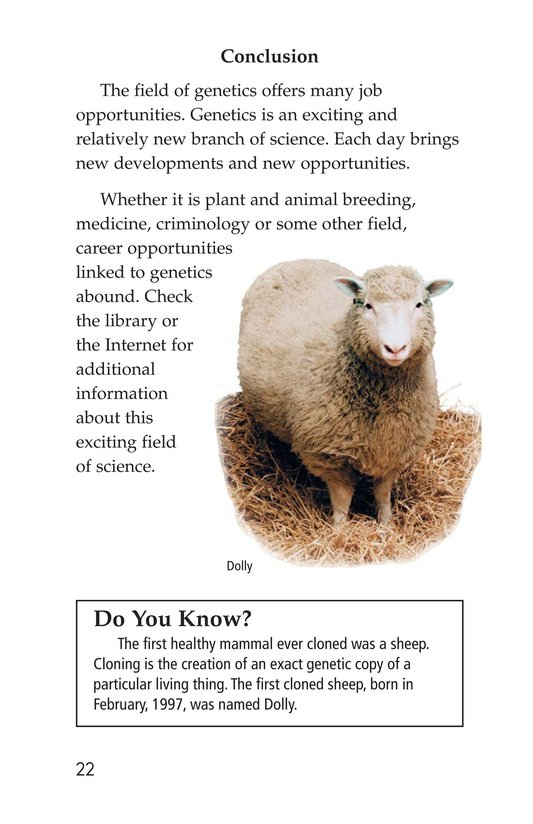 Book Preview For Genetics at Work Page 22
