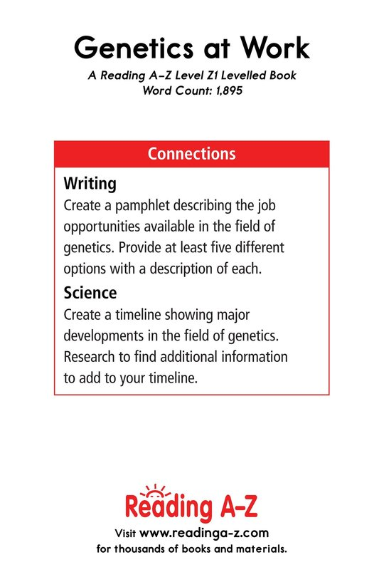 Book Preview For Genetics at Work Page 25