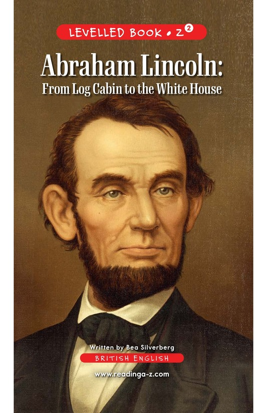 Book Preview For Abraham Lincoln: From Log Cabin to the White House Page 0