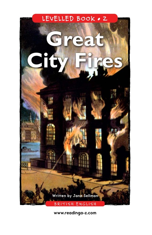 Book Preview For Great City Fires Page 1