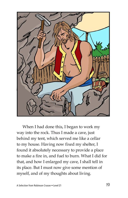 Book Preview For A Selection From Robinson Crusoe Page 19