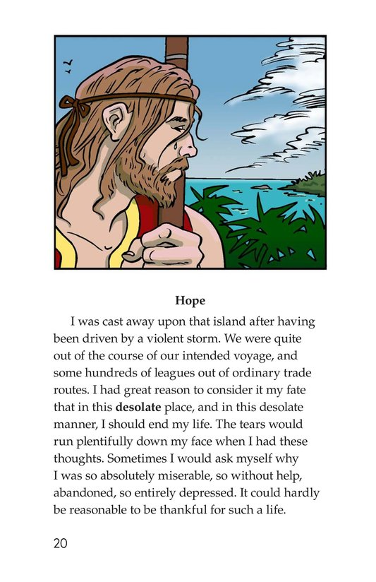 Book Preview For A Selection From Robinson Crusoe Page 20