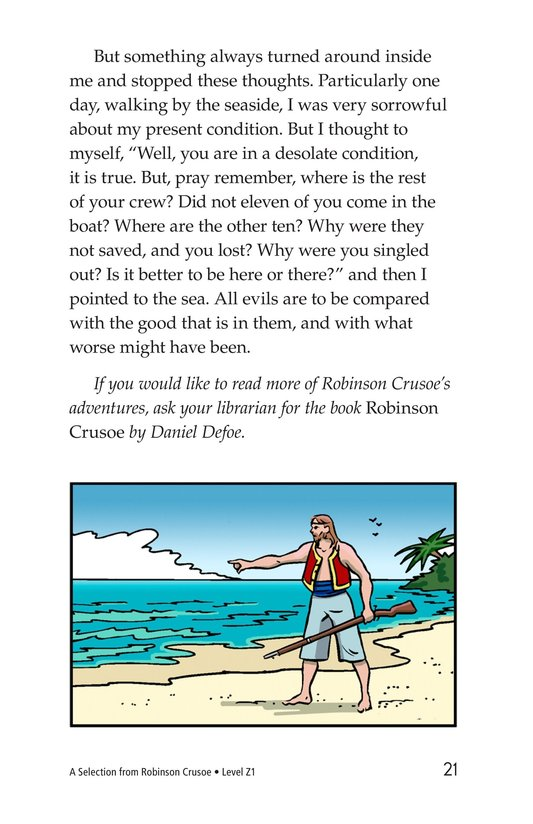 Book Preview For A Selection From Robinson Crusoe Page 21