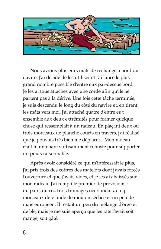 Book Preview For A Selection From Robinson Crusoe Page 8