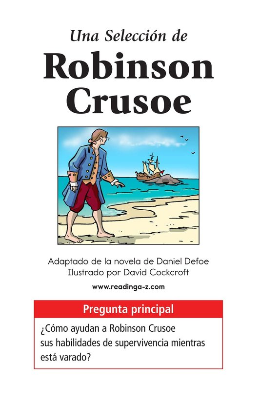 Book Preview For A Selection From Robinson Crusoe Page 1