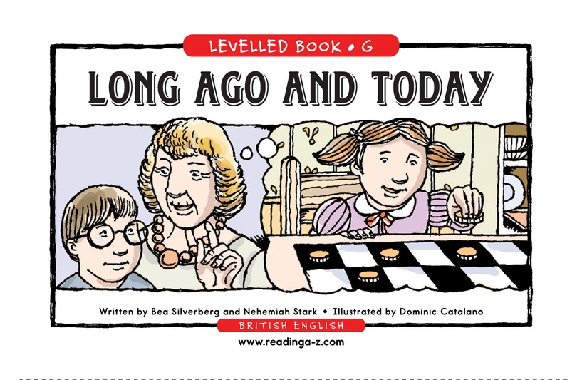 Book Preview For Long Ago and Today Page 1