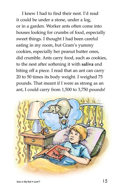 Book Preview For Ants in My Bed Page 15