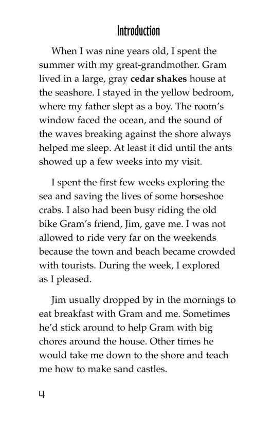 Book Preview For Ants in My Bed Page 4