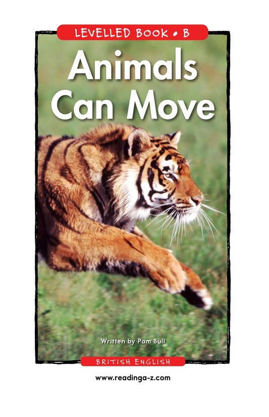 Book Preview For Animals Can Move Page 1