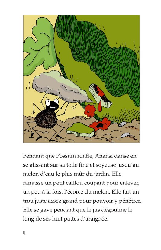 Book Preview For Anansi and the Talking Watermelon Page 4