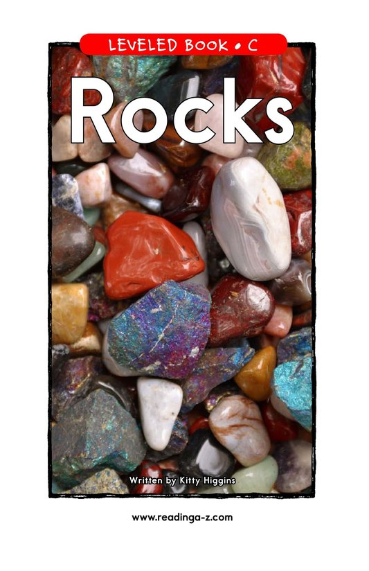 Book Preview For Rocks Page 1