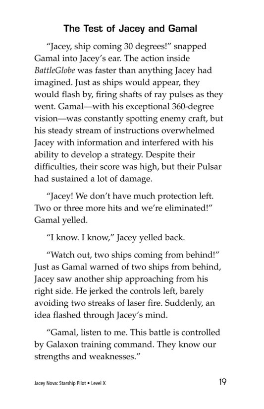 Book Preview For Jacey Nova: Starship Pilot Page 19